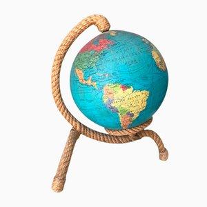 Veilleuse Globe Terrestre par Adrien Audoux & Frida Minet, 1950s