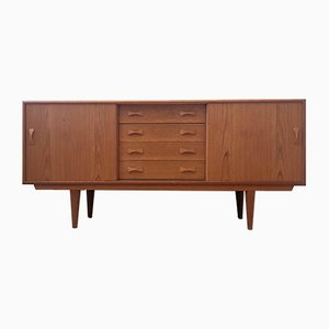 Mid-Century Danish Teak Sideboard from Clausen & Son, 1960s
