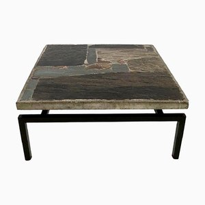 Brutalist Coffee Table by Paul Kingma, 1960s