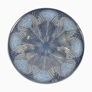 Vintage Opalescent Oeillets Bowl by René Lalique