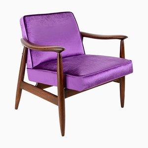 Velvet Armchair by Edmund Homa, 1960s
