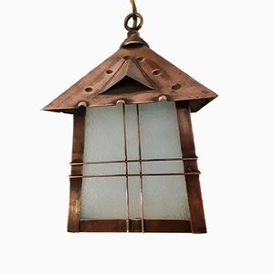 Lanterna antica Art Nouveau