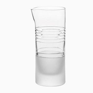 Handgefertigter irischer Krug aus Kristallglas von Scholten & Baijings für J. HILL's Standard