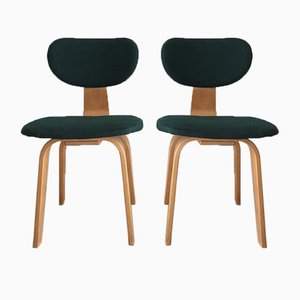 SB02 Dining Chairs by Cees Braakman for Pastoe, 1950s, Set of 2