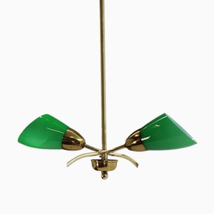 Lampe à Suspension Art Deco, 1930s