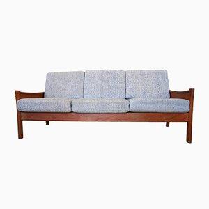Danish Teak Three-Seater Sofa from Dyrlund, 1970s