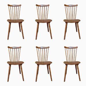 Vintage Esszimmerstühle von Baumann, 6er Set