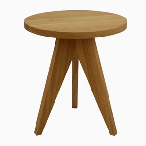 Lollipop Side Table in Natural Oak by Dejan Stanojevic for ASTALfurniture