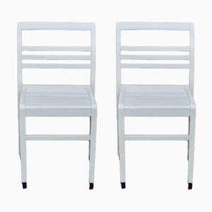 Reconstruction Chairs by René Gabriel, 1950s, Set of 2