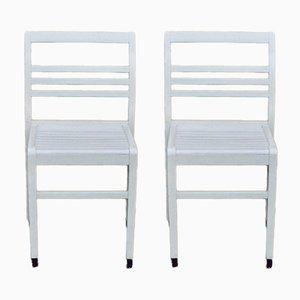 Reconstruction Chairs von René Gabriel, 1950er, 2er Set
