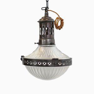 Lampe à Suspension de Holophane, 1910s
