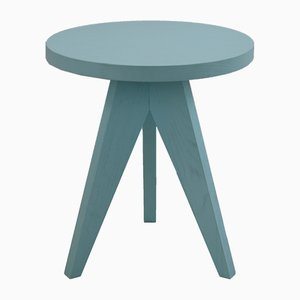 Lollipop Side Table in Light Blue by Dejan Stanojevic for ASTALfurniture