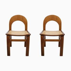 Vintage Vienna Cane Chairs, 1970s, Set of 2