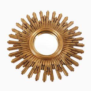 Large Mid-Century Convex Sun Mirror from Deknudt