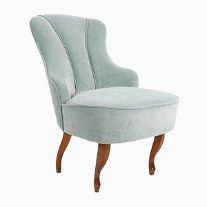 Art Deco Mint Lounge Chair, 1950s
