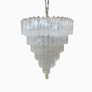 Lámpara de araña Sputnik Tronchi de cristal de Murano V