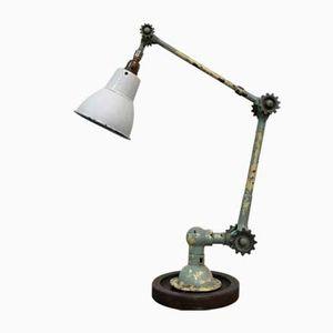 Industrial Cog Desk Lamp from Dugdills, 1920s
