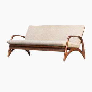 Mid-Century Rosewood Sofa from De Ster Gelderland, 1950s