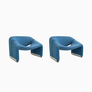 F598 Groovy Armchairs by Pierre Paulin for Artifort, 1973, Set of 2