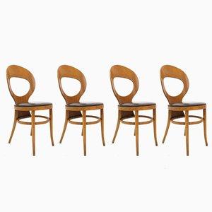 Chaises Mouette de Baumann, Set de 4