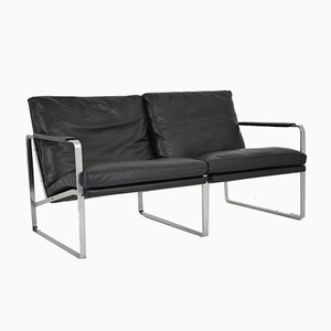 2 Seater Sofa by Jorgen Kastholm and Preben Fabricius for Walter Knoll, 1970s