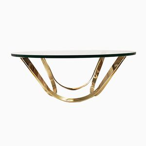 Hollywood Regency Coffee Table by Roger Sprunger for Dunbar