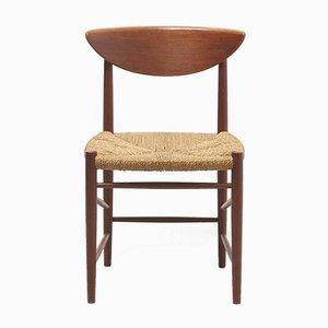 Model 316 Chair by Hvidt & Mølgaard-Nielsen for Søborg Møbelfabrik, 1950s