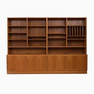 Modular Teak Bookcase by Poul Hundevad for Hundevad & Co., 1970s