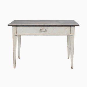 Table Console à Pieds Coniques, 1840s