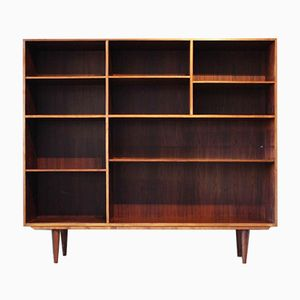 Danish Teak & Rosewood Shelving Unit by Kai Winding, 1960s