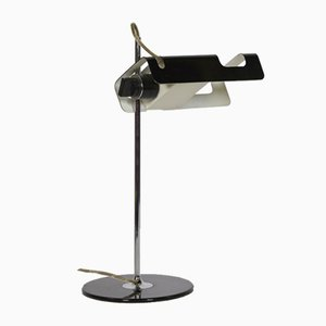 Black Spider 291 Desk Lamp by Joe Colombo for Oluce, 1960s