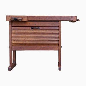 Werktisch mit Schrank, 1960er
