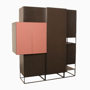 Vision & Boxes Wardrobe by Pierre Mazairac and Karel Boonzaaijer for Pastoe, 1980s