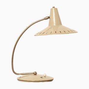 Lámpara de escritorio serie Sun en gris de J.J.M. Hoogervorst para Anvia, años 50