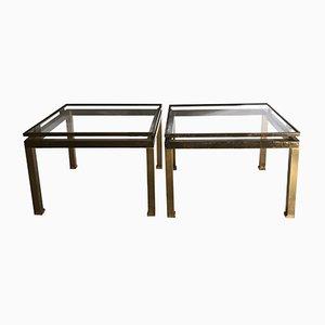 Tavolini di Guy Lefèvre, anni '70, set di 2