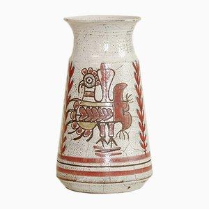 Grand Vase par Michel Barbier & Gustave Reynaud pour Atelier du Mûrier, 1950s