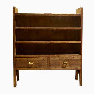 Bücherregal aus Schichtholz, 1950er