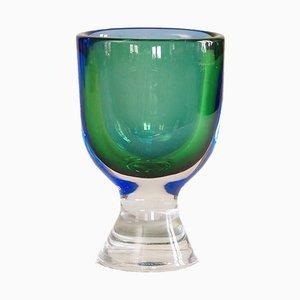 Vase par Göran Wärff pour Kosta, 1960s