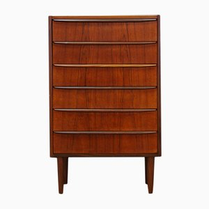 Vintage Scandinavian Teak Chest of Drawers