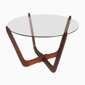 Tavolino da caffè vintage in teak