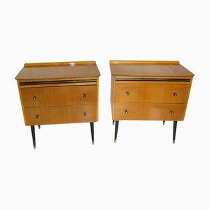 Small Vintage Dressers, 1960s, Set of 2