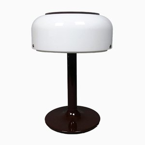 Lampe aus Metall & Plexiglas von Anders Pehrson, 1970er