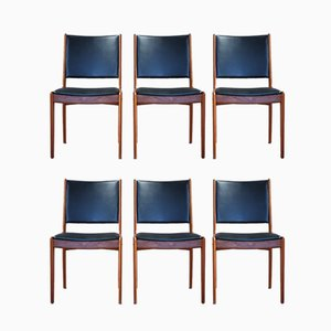 Teak Dining Chairs by Johannes Andersen for Uldum Mobelfabrik, 1960s, Set of 6