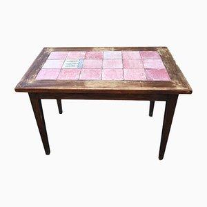 Table de Bistrot Art Deco en Céramique de Cazaux