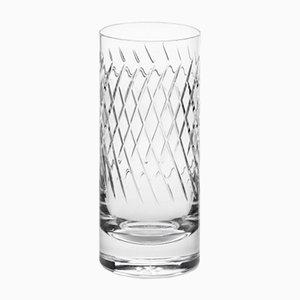 Handgemachtes irisches No III Longdrinkglas aus Kristallglas von Scholten & Baijings für J. HILL's Standard