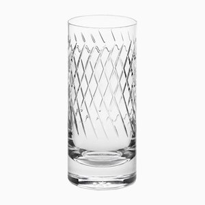 Irish Handmade Crystal No III Hi-Ball Glass by Scholten & Baijings for J. HILL's Standard