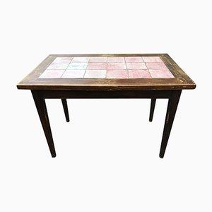 Art Deco Bistro Tisch aus Keramik von Cazaux Biarritz