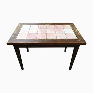 Art Deco Ceramic Bistro Table from Cazaux