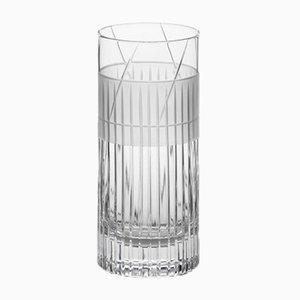 Handgemachtes irisches No IV Longdrinkglas aus Kristallglas von Scholten & Baijings für J. HILL's Standard