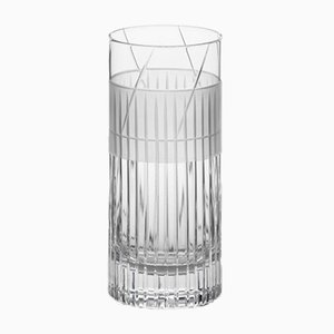 Irish Handmade Crystal No IV Hi-Ball Glass by Scholten & Baijings for J. HILL's Standard